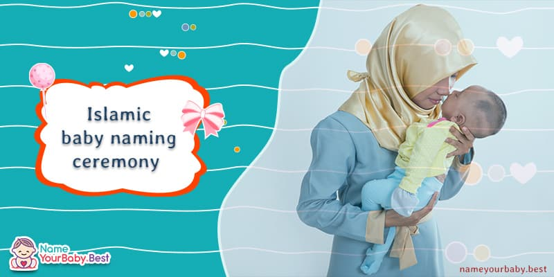 Islamic baby naming ceremony