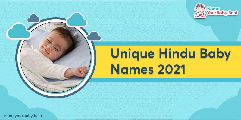 Unique Hindu Baby Boy Names 2021