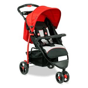 Fisher-Price-Rover-Steel-Stroller-Cum-Pram-(Red)
